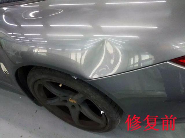 汽车无痕凹陷修复前2
